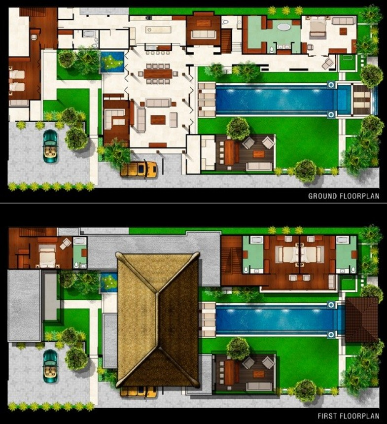 Villa Lilibel Floor Plan