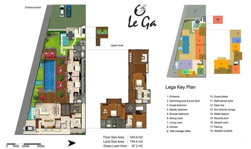 Villa LeGa Floor Plan