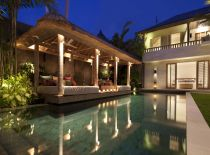 Villa Adasa, Pool at Night
