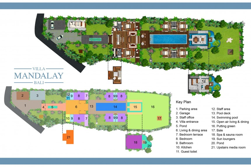 Villa Mandalay Floor Plan
