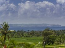 Villa Mandalay, View toward the ocean